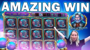 AMAZING large WIN ascension OF MERLIN – WE JUST maintain ON GETTING INSANE WINS ON THIS SLOT