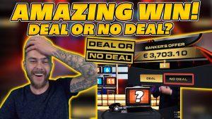 Удивительный большой выигрыш на сделку или нет сделки ?! Принять предложение? большой выигрыш в казино Live Live!