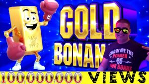 Au Bonanza Slot Machine Max Bet Bonuses & large WIN | We Reached Together 100,000,000 Views- Thanks🍻
