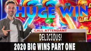 WIN أكبر انتصارات عام 2020 الجزء 1 Hand Handpays ضخمة 🤑 مكافآت كبيرة Jack الجوائز العملاقة! ^ BCSlots