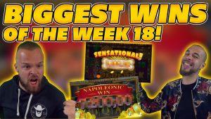 DIDŽIAUSIAI kalendorinės savaitės 17 VINAI! INSANE dideli laimėjimai internetiniuose lizduose!