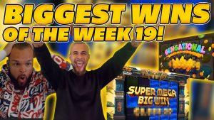 Хуанли долоо хоногийн 19-ний өдрийн хамгийн том ялалт! Онлайн Slots дээр том хэмжээний WINS INSANE! TWITCH ОНЦЛОГ!