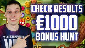 BONUS HUNT RESULTS: Many Double Bonuses | Online casino bonus Slots large Wins