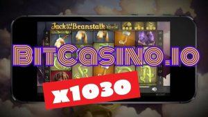 🚀 BONUS SPINS ► Jack too Beanstalk 👌 MEGA large WIN 💰 x1030 [ BitCasino.io ]