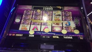 "Buffalo xtra reel""JACKPOT HANDPAY large WIN""at Fallsview casino bonus"