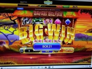 CHUMBA casino bonus SAFARI SELFIE large WIN