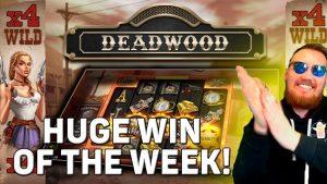 🔥Classy Beef Amazing large Win on DEADWOOD SLOT/ Classy Beef casino bonus Highlights