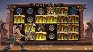 Conan liberate Play Slot Game  #slots #bigwin #casino bonus