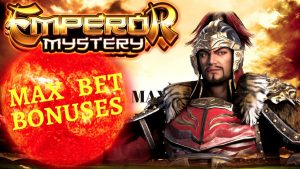 EMPEROR MYSTERY Slot Machine Max Bet Bonuses & large WIN ! Premiere flow With NG SLOT