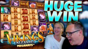 EPIC WIN on MAX-MAX bonus – Vikings Unleashed Megaways slot