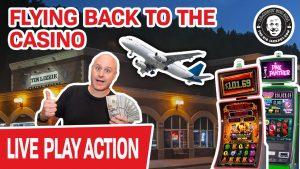 🔴 FLYING dorsum to The Casino Bonus ✈ Spielen Sie noch einmal vorhandene LIVE SLOTS!