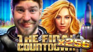 Final Countdown 256x bonus 10€ bet HUGE WIN!