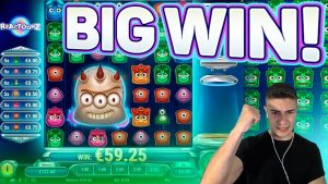 GREENS HITTING ON REACTOONZ | large WIN ON PLAY' N GO ONLINE SLOT MACHINE