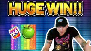 HUGE WIN! Jammin Jars large WIN – Online Slots from Casinodaddys live flow