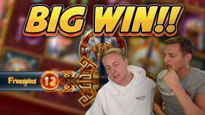 FITUAR I SHUMU! Sword of Khans WIN large Wide - Slots Online nga Casinodaddys jetojnë aktual