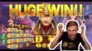 HUGE WIN! Wild due west atomic number 79 large WIN – Online Slots from Casinodaddys live current