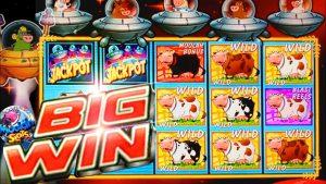 HUGE large WINS!!! Invaders homecoming From the Planet Moolah Slots inwards casino bonus