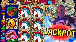 High boundary Enchanted Unicorn Slot Machine large HANDPAY JACKPOT | Live High boundary Slot Play At casino bonus