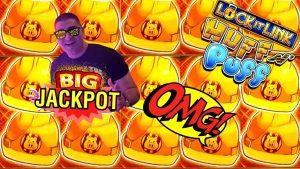 Huff N Puff Slot Machine large HANDPAY JACKPOT | High bound Lock It Link DIAMONDS Slot Bonus Win