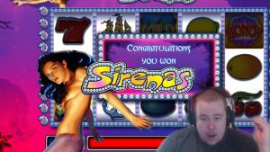 Huge Bonus Win ★ Sirenas ★ Novomatic slot, played on Vihjeareena´s current