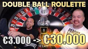 INSANE Double Ball Roulette large Win Session