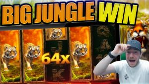 IS JOSH THE novel TIGER Rex!? Jungle Spirit large Win!