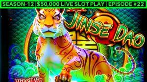 Jinse Dao Tiger խաղային ավտոմատ Live Play & Nice Wins | համը -12 | Դրվագ # 22