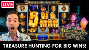 "🔴💰 LIVE LOTAI 🎰 TREASURE ""Hunting large WINS"" ""PlayChumba Social"" kazino premijoje #advertizement"