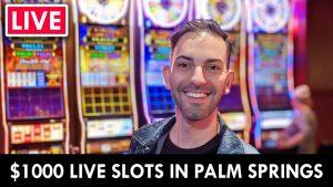 🔴 LIVE from Palm Springs casino bonus 🎰 $1,000 should do the trick 🤞