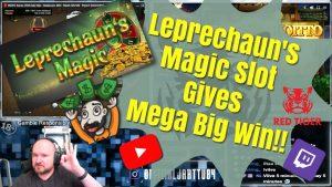 Leprechaun´s Magic Slot Gives Mega large Win!!