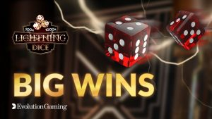 Lightning die large Win Compilation | Evolution Gaming