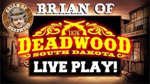 """Tiesioginis kazino premijos lošimo automatas - 6,000 XNUMX USD iš """"Deadwood""""!"""