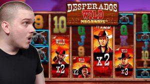 MEGA large WIN ON DESPERADOS WILD MEGAWAYS (Inspired amusement)