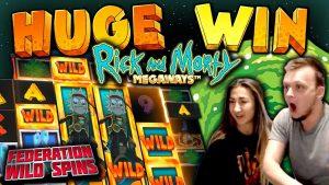MEGA large WIN on Rick together with Morty Bonus Buys!