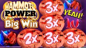 Mammoth powerfulness Slot Machine 1st Spin Bonus & large WIN | Lock It Link Slot Machine Max Bet Bonus