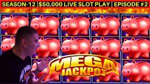 Piggy Bankin Slot Machine ✦HUGE HANDPAY JACKPOT✦ - UNBELIEVABLE | Aroma-12 | Episod # 2