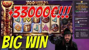 ROSHTEIN +33000€ large WIN inwards 300 SHIELDS EXTREME SLOT