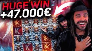 ROSHTEIN HUGE Win 45.000€ on Testament slot – TOP 5 Mega wins of the calendar week