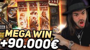 ROSHTEIN novel tape Win 90.000€ on Deadwood slot – TOP 5 Mega wins of the calendar week
