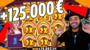 ROSHTEIN  win 125.000 € novel World tape The domestic dog House slot –  Best bonus hunt ever