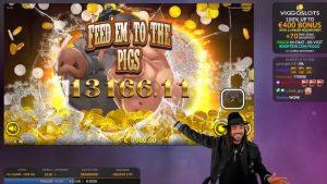 Roshtein Deadwood Superbonus – Online casino bonus large Win inwards Slots