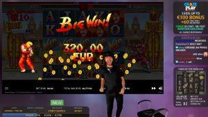 Roshtein Street Fighter II: BigWin 58077€ – Online casino bonus inward Slots