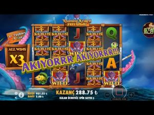 SLOT – KRAKEN! BİG WİN!!!