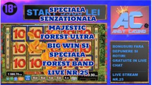 SPECIALA SENZATIONALA  MAJESTIC woods-ULTRA large WIN SI woods BAND DIN ANDY casino bonus LIVE NR.25