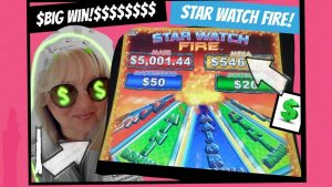 $$STAR ticker flame slot machine $large WIN at IP casino bonus ON THE gulf mississippi