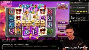SUPER MASSIVE kasetë WIN   Bonus kazino LIL DEVIL SLOT   AyeZees FITUAJ M SHUM