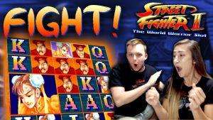 SUPER suur võit WIN Street Fighter 2 mänguautomaadi boonuses!