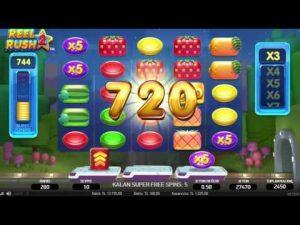 Slot Büyük Kazanç – Reel Rush 2 – casino bonus Oyunları – Rulet – Bahis 🎰 #bigwin #slot #netent