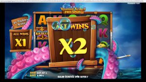 Slot – KRAKEN  BİG WİN! #SLOT #CASİNO #rulet