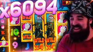 Spintwix tape win 16.000 € on RICK as well as MORTY MEGAWAYS  slot – TOP 5 mega wins inwards casino bonus online